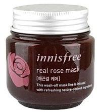 Духи, Парфюмерия, косметика Маска для лица с экстрактом розы - Innisfree Real Rose Mask