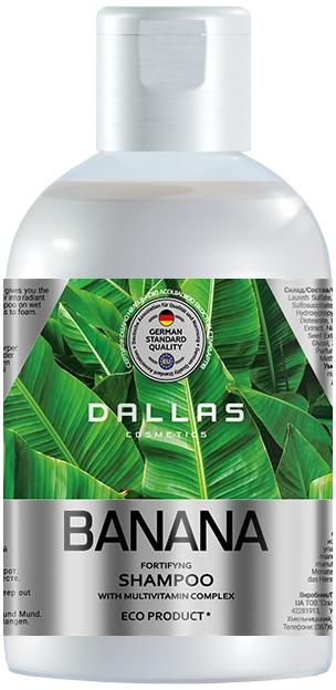 "Шампунь для волос ""Банан"" - Dallas Cosmetics Fortifying Shampoo"