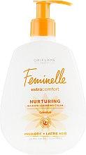 Духи, Парфюмерия, косметика Смягчающий крем-гель для интимной гигиены - Oriflame Feminelle Nurturing Intimate Cream