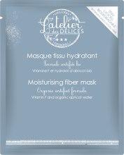Духи, Парфюмерия, косметика Увлажняющая гиалуроновая маска на тканевой основе - L'Atelier des Délices Hydra Moisturising Fiber Mask