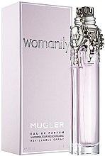 Mugler Womanity Refillable Spray - Парфюмированная вода — фото N2