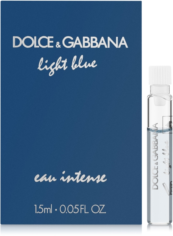 Dolce&Gabbana Light Blue Eau Intense - Парфюмированная вода (пробник)