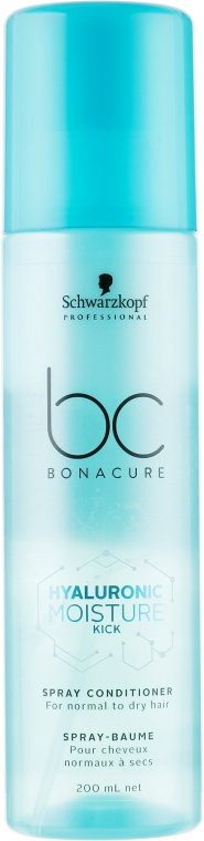 Спрей-кондиционер - Schwarzkopf Professional BC Bonacure Hyaluronic Moisture Kick Spray Conditioner