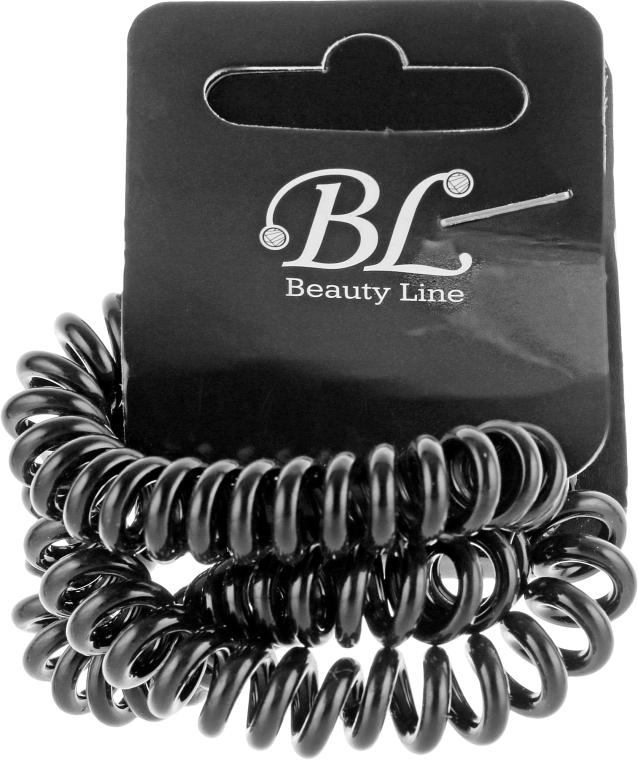 Набор резинок для волос, 405004, черные - Beauty Line