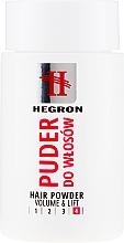 Духи, Парфюмерия, косметика Пудра для объема волос - Hegron Hair Powder Volume & Lift