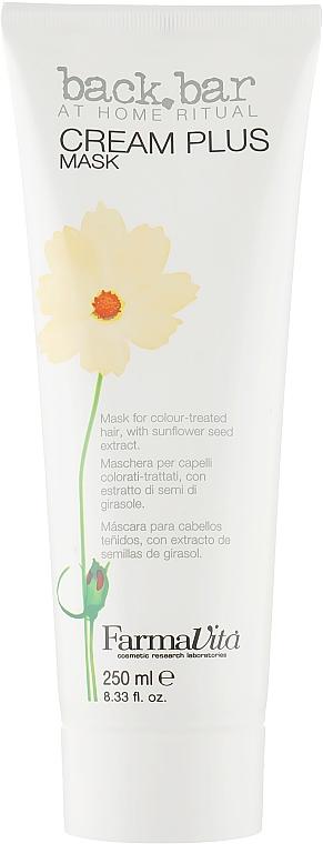 Маска защитная - Farmavita Back Bar Cream Plus Mask