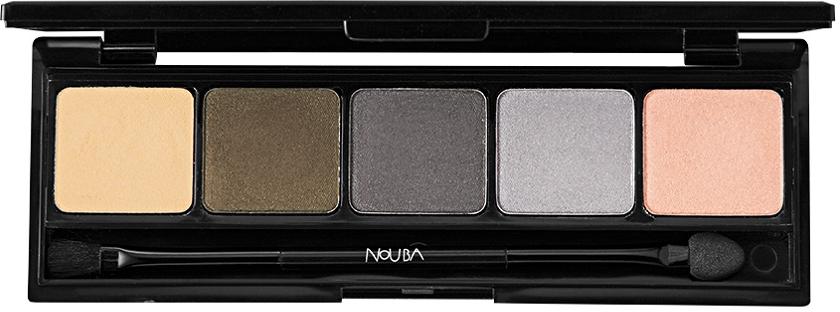 Палетка теней для век - NoUBA Urban Charmer Palette Eyeshadow