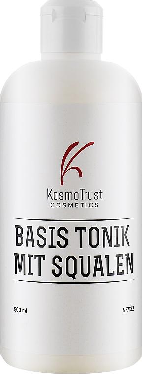 Тоник базовый со скваленом и протеинами шелка - KosmoTrust Basis Tonik Mit Squalen