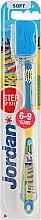 Духи, Парфюмерия, косметика Детская зубная щетка Step by Step (6-9) мягкая, желто-синяя - Jordan