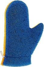 """Духи, Парфюмерия, косметика Рукавичка для массажа """"Aqua"""", 6021, сине-желтая - Donegal Aqua Massage Glove"""