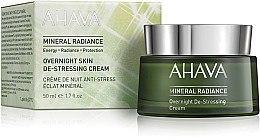 Духи, Парфюмерия, косметика Минеральный ночной крем для лица - Ahava Mineral Radiance Overnight De-Stressing Cream
