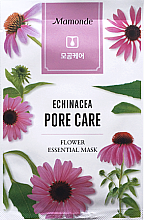 Духи, Парфюмерия, косметика Тканевая маска для лица - Mamonde Flower Essential Mask Echinacea Pore Care