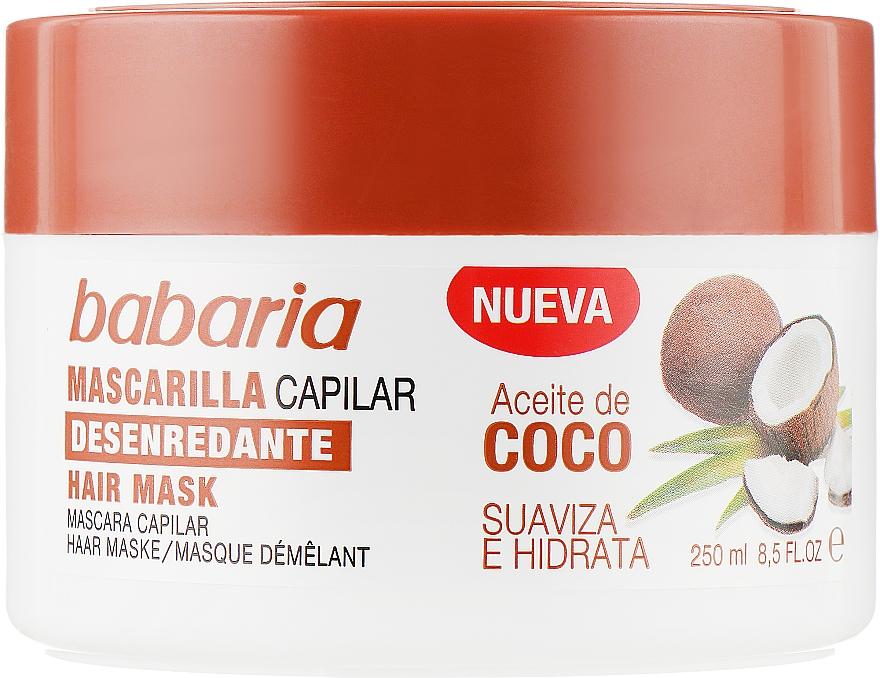 Маска для волос с кокосовым маслом - Babaria Hair Mark Coconut Oil