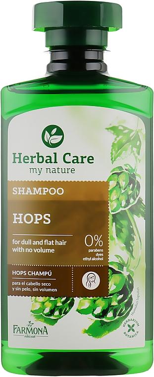 Шампунь для объема волос - Farmona Herbal Care Hops Shampoo