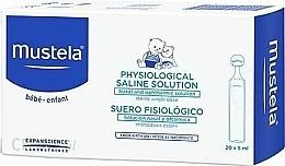 Духи, Парфюмерия, косметика Стерильные назальные и офтальмологические капли - Mustela Bebe Saline Solution Eye And Nasal Drops Sterile