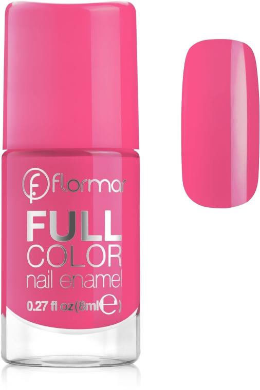 Лак для ногтей - Flormar Full Color Nail Enamel