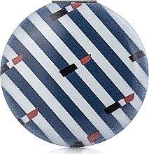 Духи, Парфюмерия, косметика Зеркало круглое М1041-3, сине-белое - Rapira