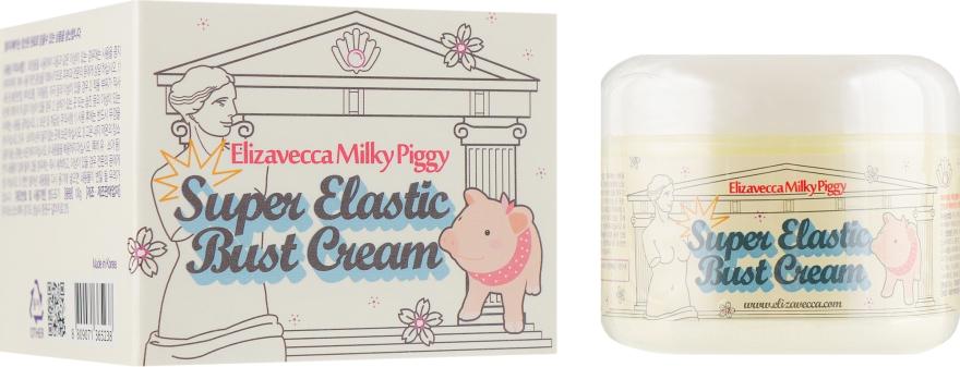 Крем для придания эластичности кожи груди - Elizavecca Milky Piggy Super Elastic Bust Cream