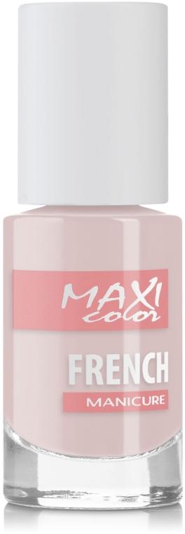 Лак для ногтей - Maxi Color French Manicure