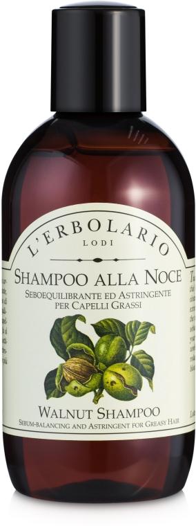 Шампунь с грецким орехом - L'Erbolario Shampoo alla Noce
