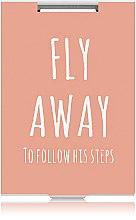 """Духи, Парфюмерия, косметика Зеркало прямоугольное """"Fly Away"""" оранжевое - Rapira"""