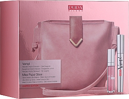 Духи, Парфюмерия, косметика Набор - Pupa Limited Edition (mascara/9ml + lip/gloss/5ml + bag)