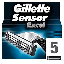 Духи, Парфюмерия, косметика Сменные кассеты для бритья, 5 шт. - Gillette Sensor Excel
