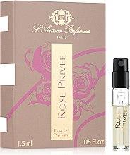 Духи, Парфюмерия, косметика L`Artisan Parfumeur Rose Privée - Парфюмированная вода (пробник)