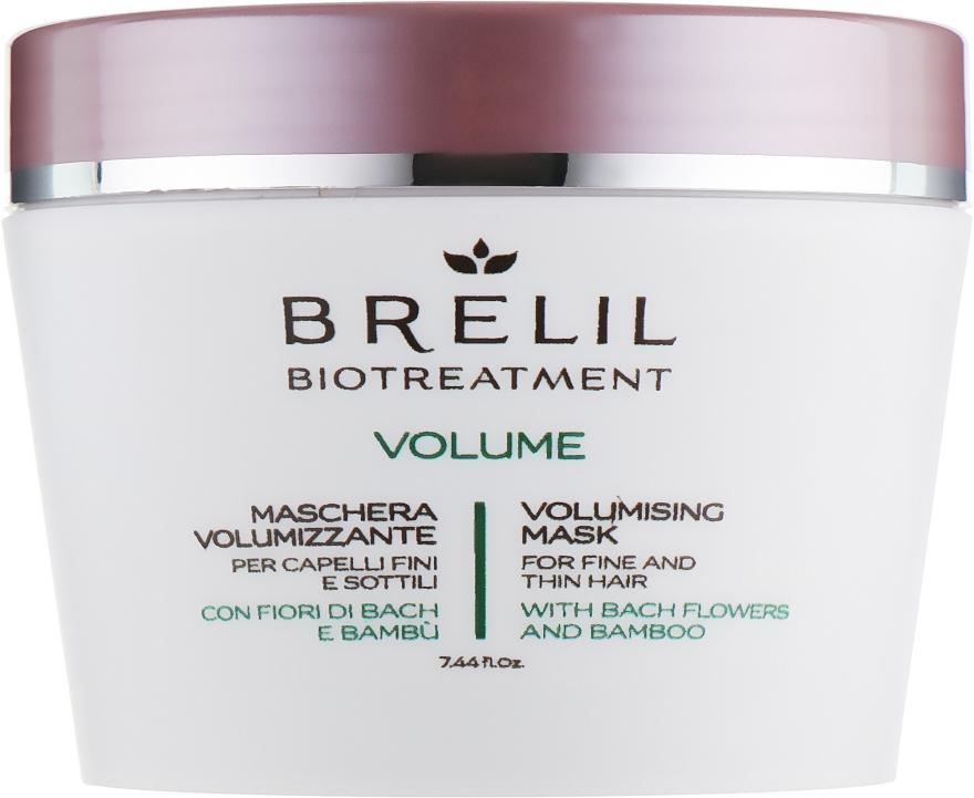 Маска для придания объёма - Brelil Bio Treatment Volume Hair Mask