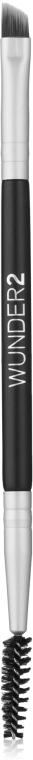 Кисть для макияжа и бровей 2в1 - Wunder2 Wunderbrow Dual Precision Brush