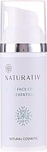 Духи, Парфюмерия, косметика Ночной крем для лица - Naturativ Facial Night Cream 30+