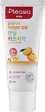 Духи, Парфюмерия, косметика Детская зубная паста со вкусом мандарина - Pleasia Kids Toothpaste Mandarine