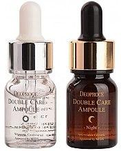 Духи, Парфюмерия, косметика Ампулы двойного действия - Deoproce Double Care Ampoule