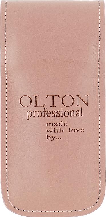 Набор маникюрный 4 предмета, розовый - Olton