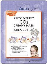"Духи, Парфюмерия, косметика Маска для лица ""Масло карите"" - Celkin Press & Shiny Creamy CO2 Mask"