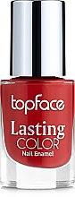 Духи, Парфюмерия, косметика Лак для ногтей - Topface Lasting Color Nail Polish