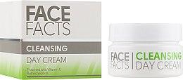 Духи, Парфюмерия, косметика Дневной крем для лица - Face Facts Cleansing Day Cream