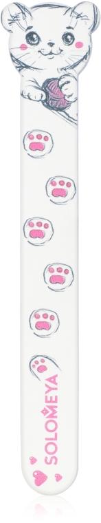 """Пилка для ногтей """"Игривый котенок"""", 180/220 грит - Solomeya Nail File"""