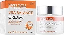 Духи, Парфюмерия, косметика Крем для обезвоженной кожи лица с витаминами - Pro You Professional Vita Balance Cream