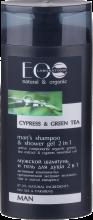 Духи, Парфюмерия, косметика Мужской шампунь и гель для душа 2 в 1 - ECO Laboratorie Hair Care Men's Shampoo-Gel Shower