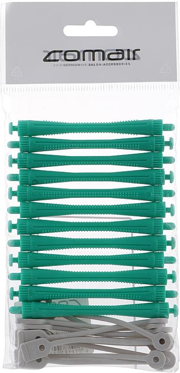 Бигуди для холодной завивки, с круглой резинкой, зелёные, d5 - Comair