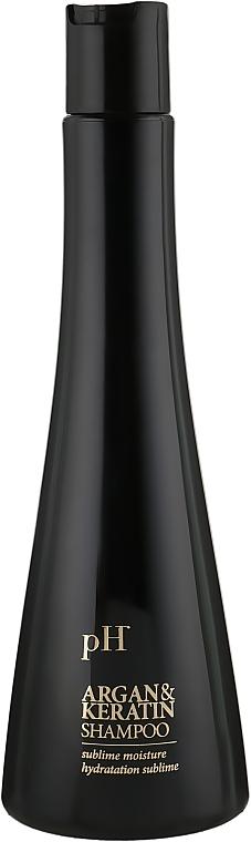 Шампунь для волос - pH Laboratories Argan&Keratin Shampoo
