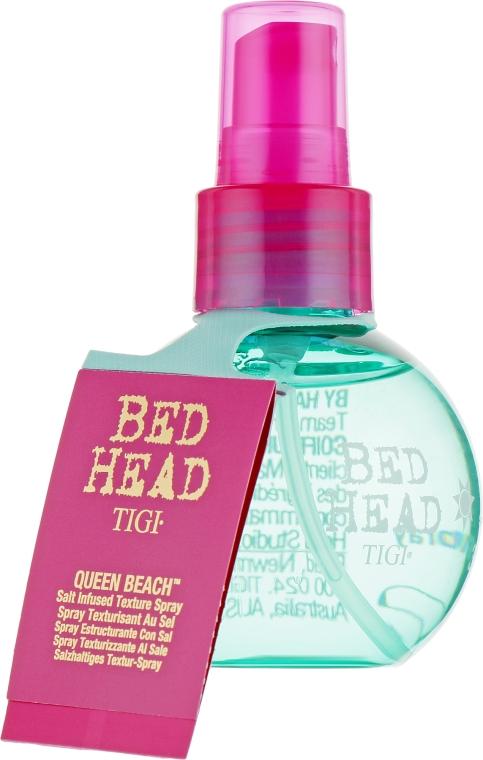 """Спрей для волос """"Текстурирующий с морской солью"""" - Tigi Bed Head Queen Beach Salt Infused Texture Spray"""