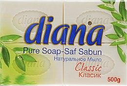 "Парфумерія, косметика Натуральне мило ""Класік"" - Dalan Diana Pure Soap"