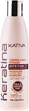 Духи, Парфюмерия, косметика Кератиновый укрепляющий крем для укладки для всех типов волос - Kativa Keratina Styling Cream