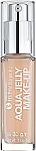 Духи, Парфюмерия, косметика Тональный флюид увлажняющий-матирующий - Bell HypoAllergenic Aqua Jelly Make-Up