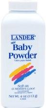 Духи, Парфюмерия, косметика Присыпка детская - Lander Baby Powder