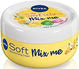 Духи, Парфюмерия, косметика Увлажняющий крем для лица, тела и рук - Nivea Soft Mix Me I am the Happy Exotic One