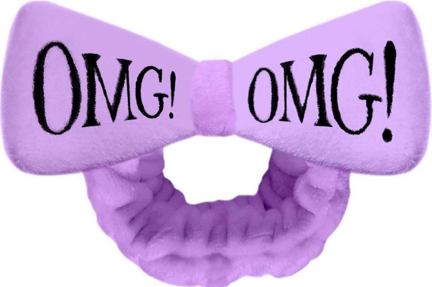 Косметическая повязка для волос, фиолетовая - Double Dare OMG! Purple Hair Band