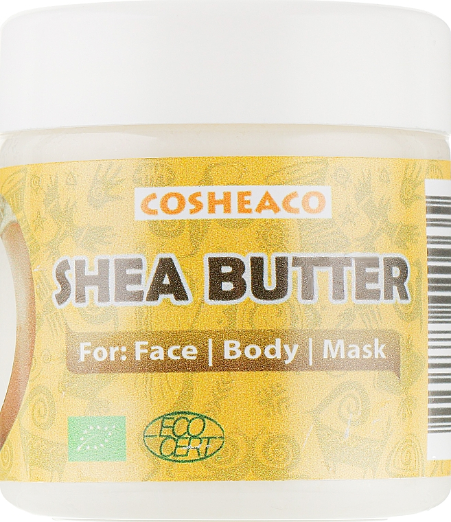 Масло Ши для лица и тела, рафинированное - Cosheaco Oils & Butter